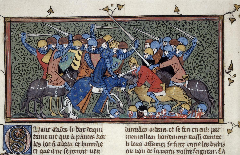 Christophe Naudin, William Blanc – Charles Martel et la bataille de Poitiers
