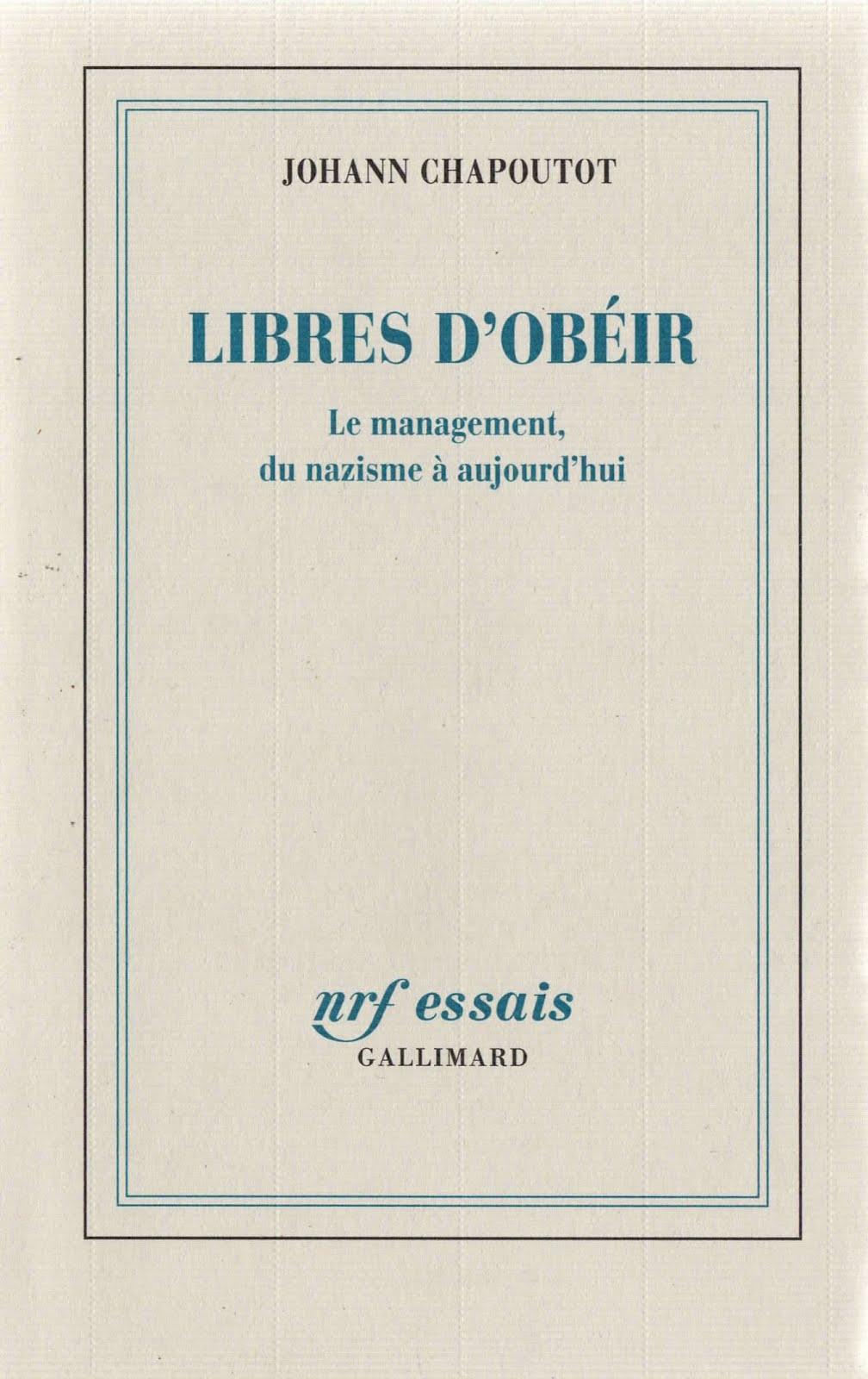 Johann Chapoutot – Libres d'obéir
